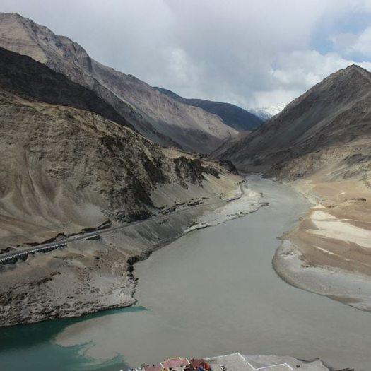 Zanskar-Indus meet