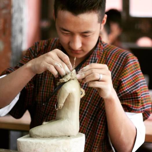 Bhutan student