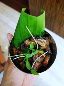 Spiced mushrooms