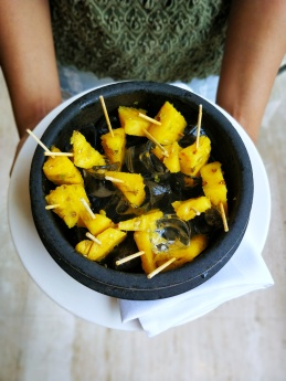 Spiced pineapple