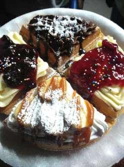 Henny's gourmet waffles